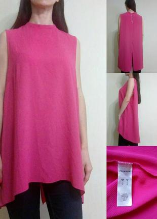 Красивая лёгкая блуза свободного кроя с удлиненной спинкой 18