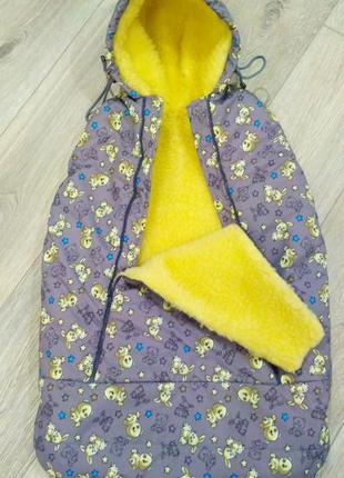 Мешок для деток зимний