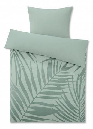 Натуральный комплект постельного белья от тсм tchibo германия размер135х200