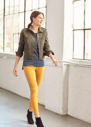 Зауженные джинсы vero moda яркого цвета