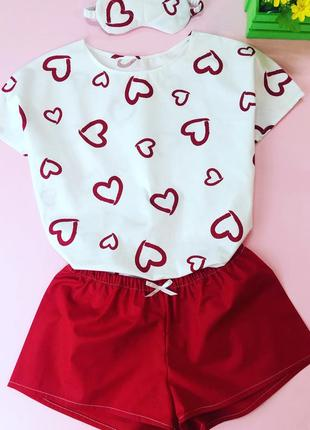 Хлопковая женская пижама. все размеры