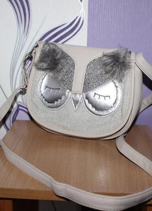 Классная сумка с совой с совушкой george