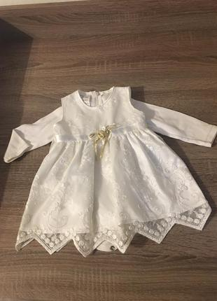 Нарядное платье для крещения или на праздник