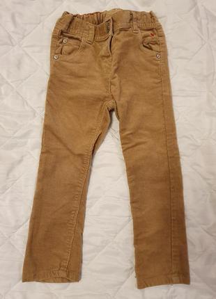 Вельветовые брюки б/у