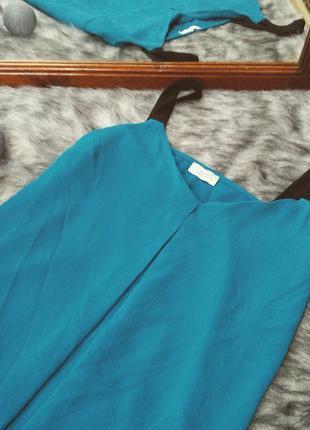 Блуза цвета морской волны papaya2 фото