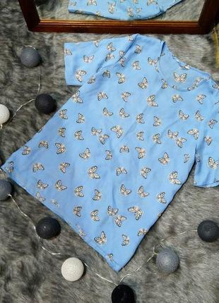 Топ блуза кофточка прямого кроя pep&co