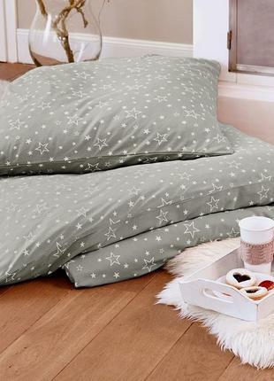 Трикотажный комплект постельного белья от тсм tchibo германия размер160х220