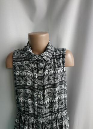 Легкое, летнее платье y.d. на 10-11лет, рост 146, 100%вискоза, штапель