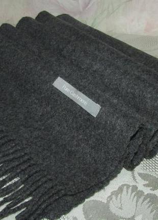 Теплый , шикарный кашемировый шарф