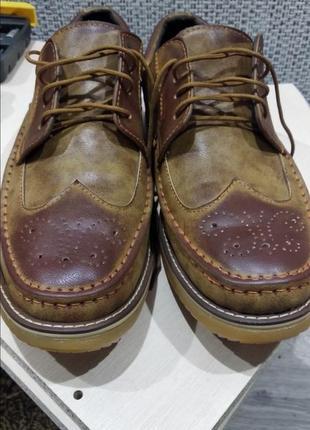 Туфли мужские (весна-лето)