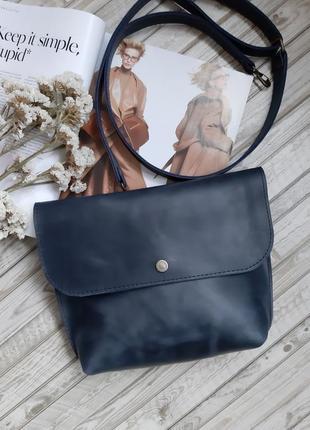 Новая кожаная сумочка сумка из кожи