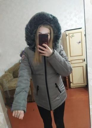 Куртка зимняя парка пуховик одеяло зефирка