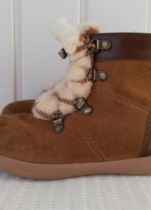 Кожаные ботинки фирмы ugg оригиналы