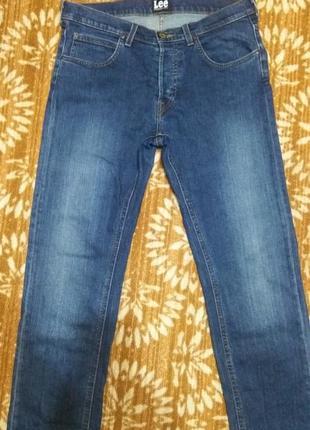 Брюки джинсовые lee darren w32 l32.