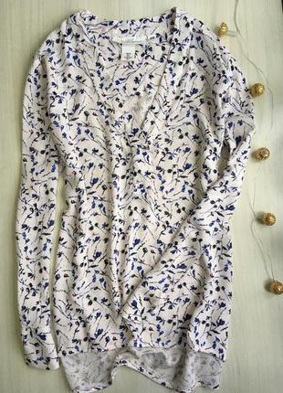 Нежная блуза в цветочный принт от h&m