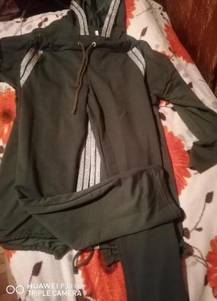 Костюм спортивный кардиган и штаны