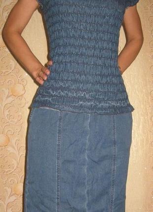 Костюм джинсовый (46-48 размера)