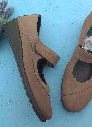 Кожаные туфли мокасины tlc р 41-42 сост новых