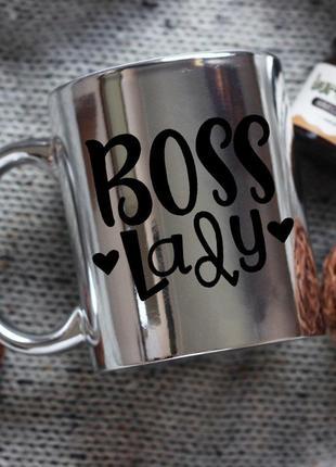 Чашка boss lady
