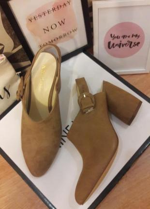 #розвантажуюсь   классические бежевые замшевые туфли nine west