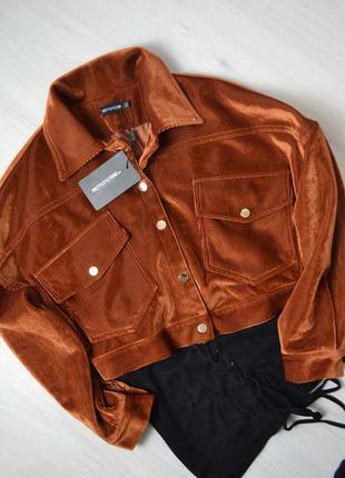Неймовірно стильна вільветова куртка