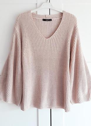 Mango, базовый вязаный свитер