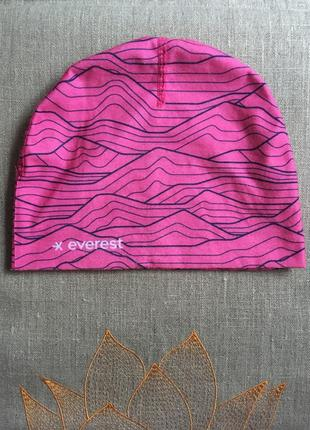 Шапка everest multi hat pink