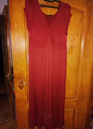 Платье макси 58-62р