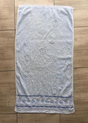 Махровое полотенце 88:48 см