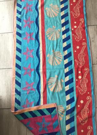 Банное полотенце 142:68 см