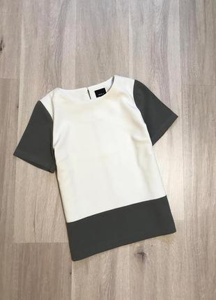 Новый новий якісний топ блуза футболка для офісу/навчання s/m next