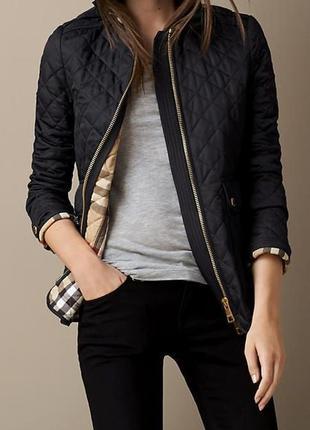 Burberry люкс бренд оригинал дизайнерская#демисезонная#стеганая куртка#жакет.