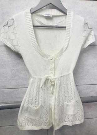 Накидка светер