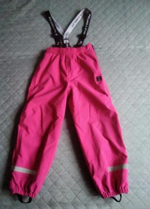 Polarn o.pyret штаны непромокаемые мембранный полукомбинезон лыжный дождевик