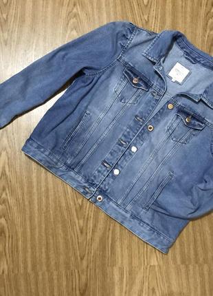 Clockhouse джинсовый пиджак жакет куртка