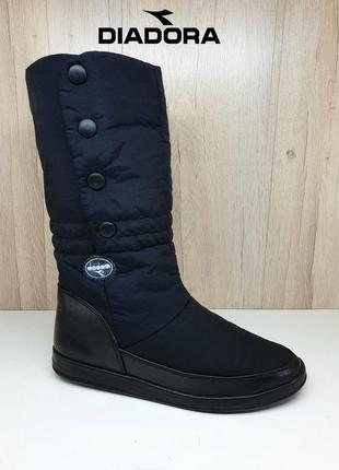 Зимние сапоги ботинки дутики diadora