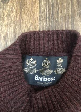 Barbour свитер оригинал шерсть