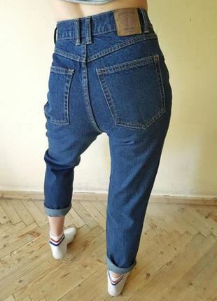 Джинсы брюки штаны мом бойфренд mom бананы высокая талия посадка высокой посадкой