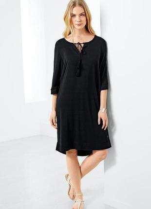 Летнее платье из стрейч вискозы 46 (50-52)
