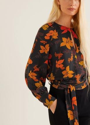 Дуууже красива блуза  mango! нова!❤️