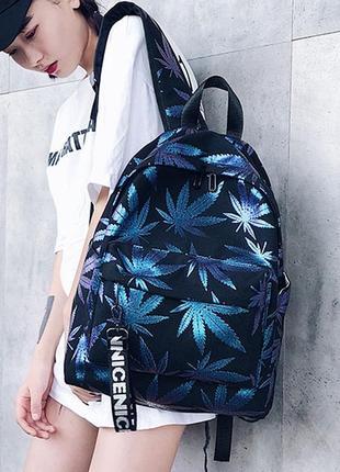 🔥🔥🔥черный рюкзак конопля марихуана унисекс