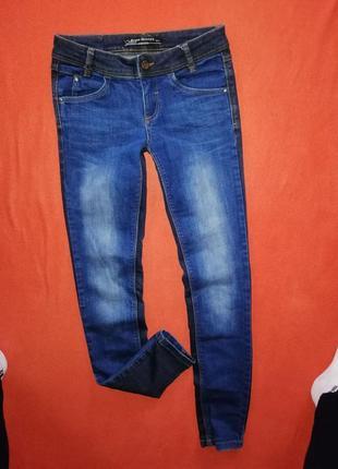 Стильные женские джинсы скинни clockhouse 34 в прекрасном состоянии