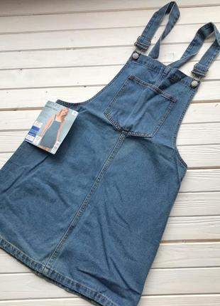 Новый джинсовый комбинезон сарафан esmara размер м