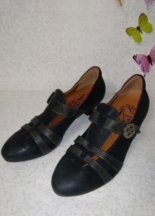 Кожаные туфли think! (синк!) 39р.