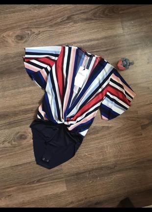 Боди bershka блуза