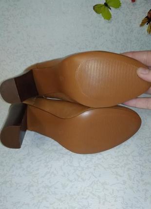 Кожаные туфли mint&berry (минт энд берри)  38р. на узкую ногу2 фото
