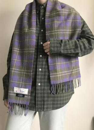 Идеальный шерстяной шарф