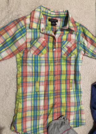Отдам пакет с брендовой детской одеждой с 4 до 6 лет за 150 грн