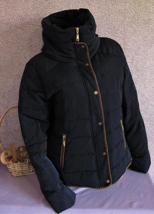 Зимняя куртка пуховик camaїeu размер eur 44-46
