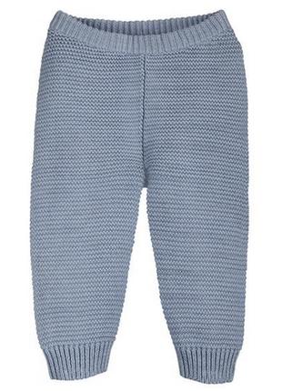 Вязаные ползунки-штаны lupilu на 12-24 месяца